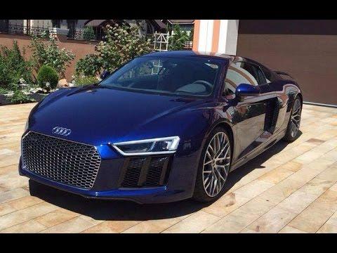 ОБЗОР Audi R8  Plus 2016 SPORT CARS FIRST IN UKRAINE