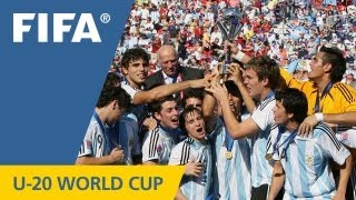 Great champions of past U-20 World Cups