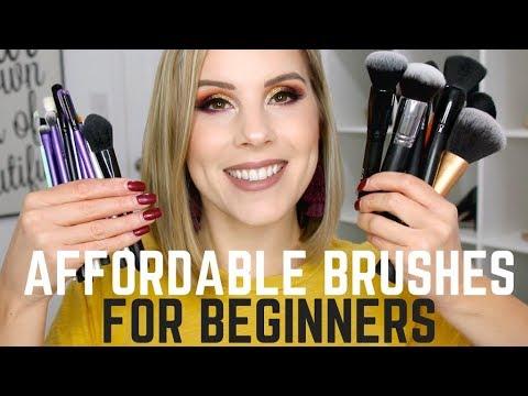 affordable makeup brushes for beginners  starter brush