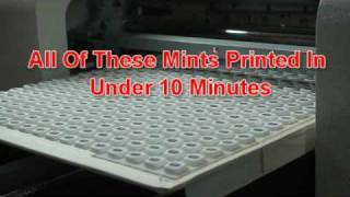 Inkjet Printer for Mints & Edibles (machine phased out)
