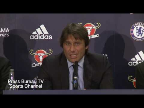 Antonio Conte unveiled as the new chelsea manager