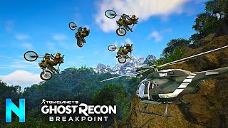 Finding the BIGGEST JUMPS in Ghost Recon: Breakpoint