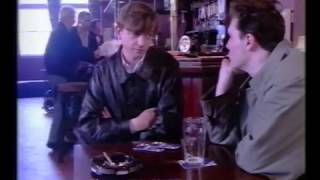 Mark E. Smith in a pub in Salford (What's New 1992)