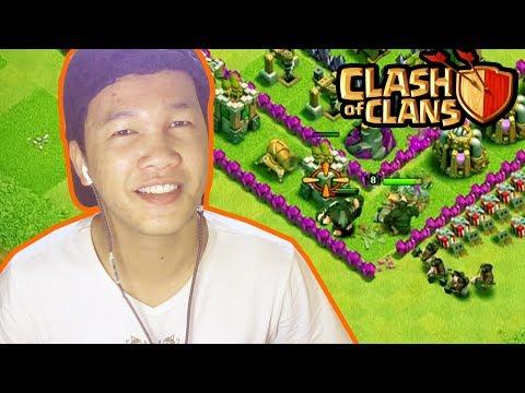 ម៉ោវិញហើយClash of Clans|Pekka Hog Raider|Wizard Giant Mix Troops Khmer Gamer|VPROGAME