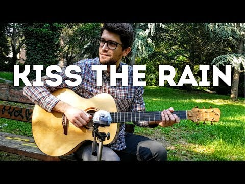 Kiss the Rain - Yiruma (fingerstyle guitar cover) [+ FREE TABs]