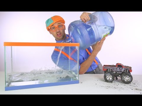 Thumbnail: Blippi Truck Wash | Truck Videos for Children by Blippi