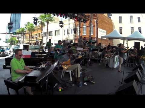 "The Mica Bethea BigBand ""Tenderly"" 2015 Jax Jazz Fest"
