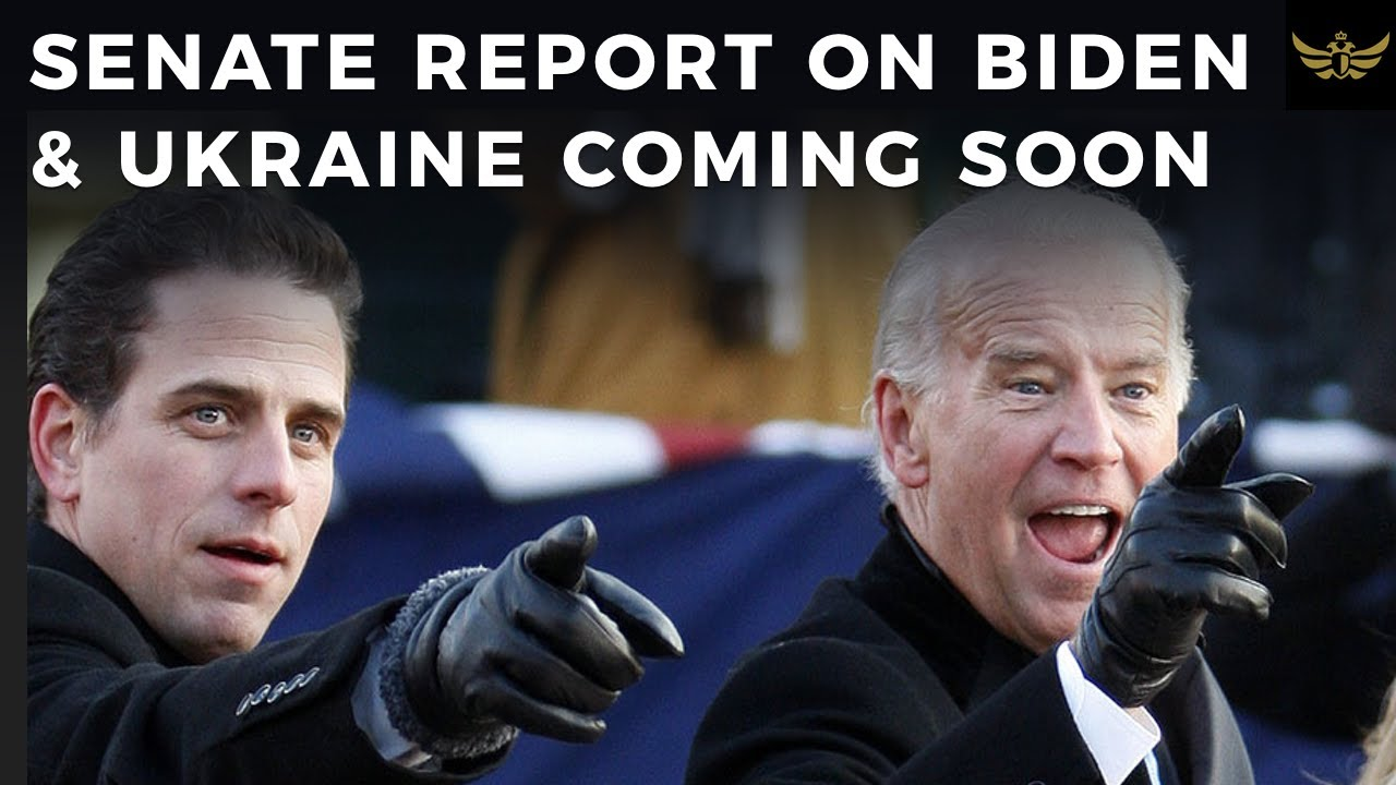 Senate to release Biden Report on Joe & Hunter Ukraine quid pro quo, days before debate.