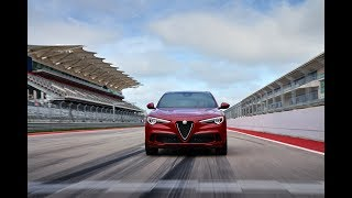 Alfa Romeo Stelvio Quadrifoglio at Circuit of the Americas