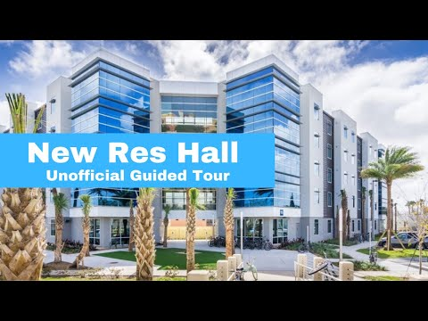 NEW RESIDENCE HALL TOUR | Embry Riddle Daytona Beach Campus