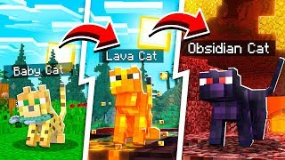LIFE OF THE WORLDS RAREST MINECRAFT CAT PET!