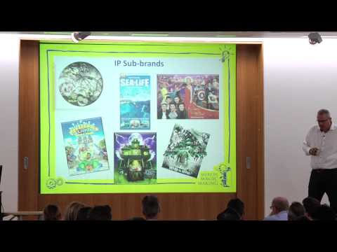 blooloopLIVE 2014 Mark Fisher, Chief Development Officer,   Merlin Entertainments PLC