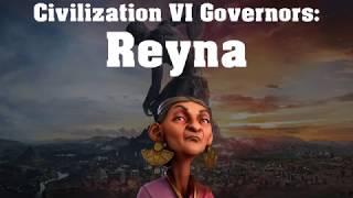Video Civilization VI Rise and Fall Governor Spotlight - Reyna download MP3, 3GP, MP4, WEBM, AVI, FLV Maret 2018