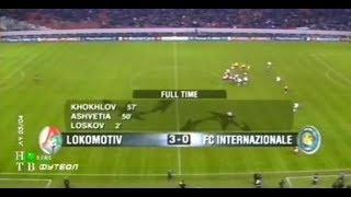 локомотив 3-0 Интер. Лига чемпионов 2003/2004
