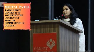 Mittal Patel talks about Gender Just Society in the context of Nomadic communities in Gujarat