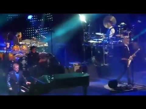 Elton john fan in stage