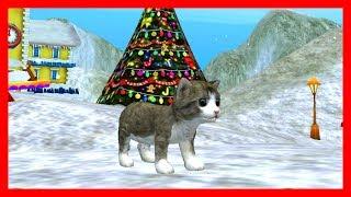 СИМУЛЯТОР Маленького КОТЕНКА #19 НОВАЯ СЕМЬЯ кошка забеременела ДЕТСКИЕ ИГРЫ