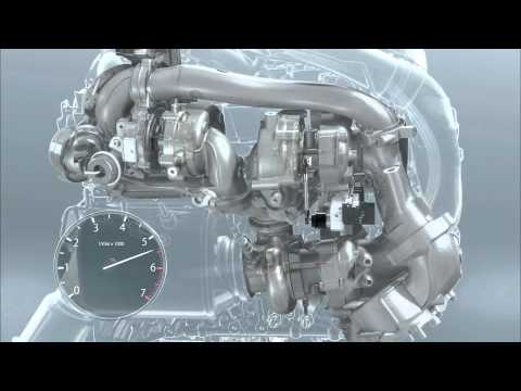 BMW Tri Turbo Diesel Engine