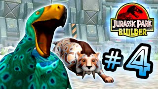 Jurassic Park Builder: GLACIER Tournament: Part 4 Kiwi Bird! HD