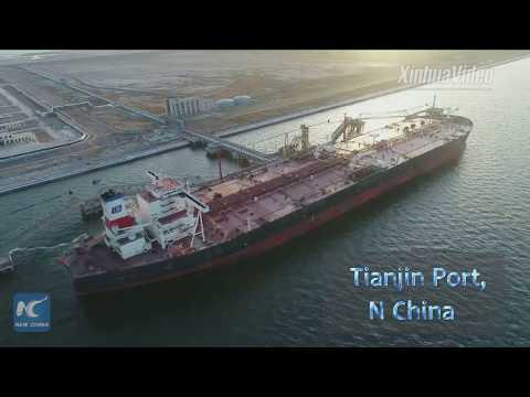 China's super oil tanker returns home after 2 years' service abroad