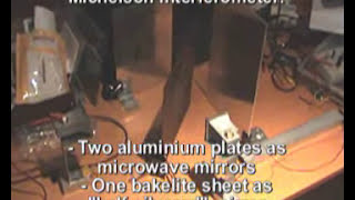 Homemade Microwave Optics (I): Interferometers