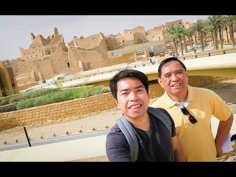 RIYADH TRAVEL VLOG | OLD AD' DIRIYAH