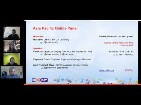 #CXDay 2016 Asia Pacific Panel: Deploying CX Across the World - Cross Cultural Challenges