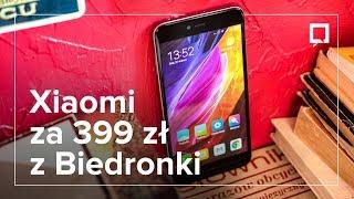 XIAOMI Redmi Note 5A za 399 zł z BIEDRONKI - OPINIA