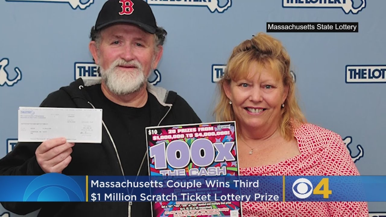 Massachusetts Couple Wins Third $1 Million Scratch Ticket Lottery Prize