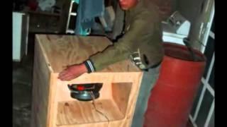 como hacer un bafle de rebote tipo folder o horn loader 18