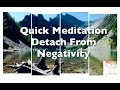 10 Minute Guided Meditation Detachment From Negativity l Replace with Positivity l ASMR l Hypnosis