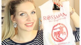 ROSSMANN HAUL | Beauty, Make Up, Food