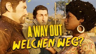 A Way Out Gameplay #9 👮 Der Raub an der Tanke (Let