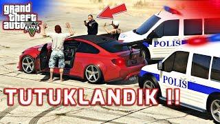 GTA 5 ROLEPLAY#12 POLİS BİZİ TUTUKLADI !!
