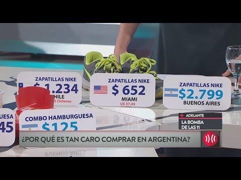 ¿Por qué es tan caro comprar Argentina?