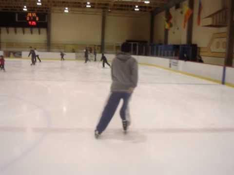 Aimen ICE SKATING MONTREAL NOV 2006