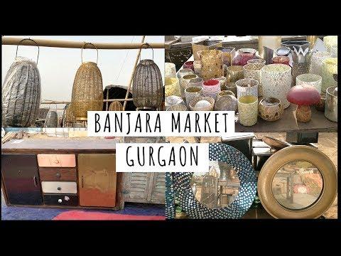 BANJARA MARKET GURGAON | Home Decor Ka Sarojini Nagar 😀 | Cheapest Furniture Market