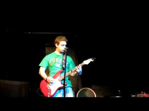 AJ Stone playing guitar at AQ, Aug 20 2012