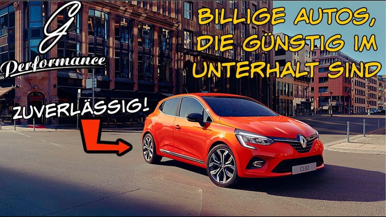 Billige Autos, die GÜNSTIG im Unterhalt sind für unter 5.000 € | G Performance