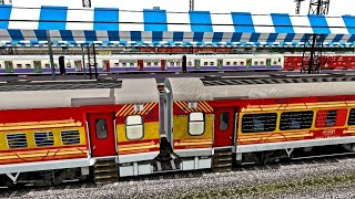 Howrah - Ernakulam Antyodaya Express || 22877 Journey Till Kharagpur || MSTS SER Action