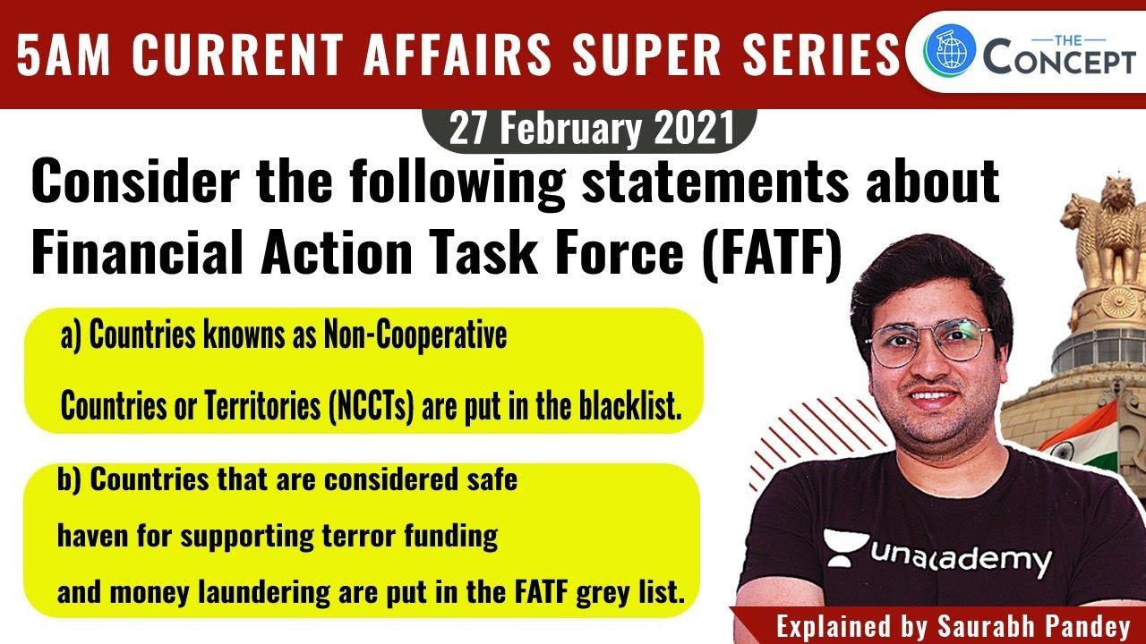 27-Feb-2021 | 5 AM Current Affairs Super Series | Crack UPSC CSE/IAS 2021 | Saurabh Pandey