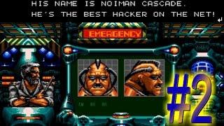 Contra Hard Corps / Buscando al hackeador / Nivel 2 / Sega Genesis