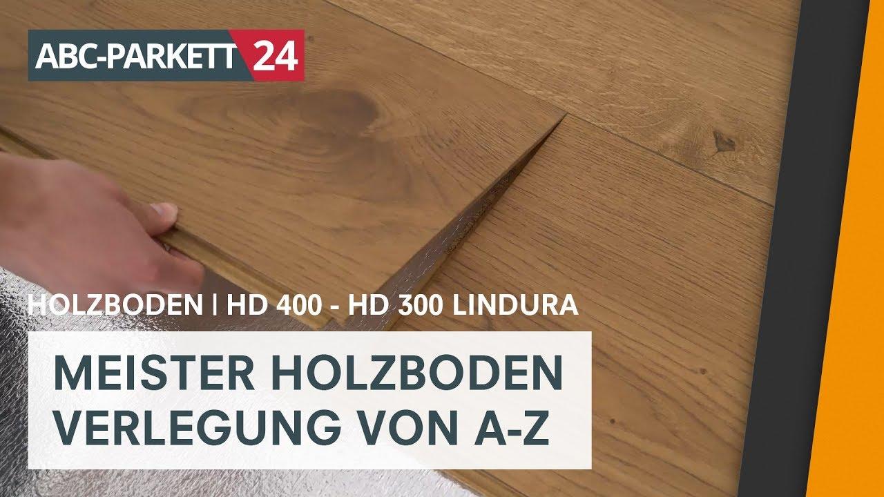 Meister Lindura Hd 300 Selber Verlegen Youtube