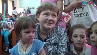 Курский цирк выступил в детской больнице