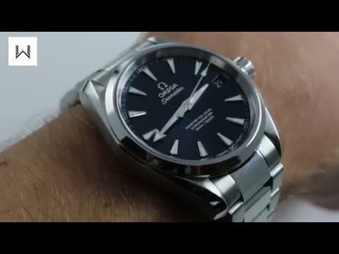 Omega Seamaster Aqua Terra 150M Master Co-Axial Luxury Watch Review