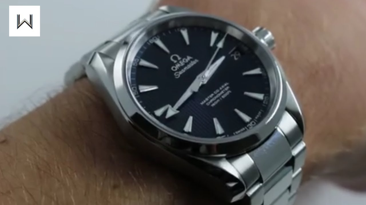 500e2a8ee Omega Seamaster Aqua Terra 150M Master Co-Axial 231.10.39.21.03.002 Luxury  Watch Review