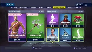 "OBJECT STORE RETURNS THE SKIN ""GALLETA"" December 21 FORTNITE"