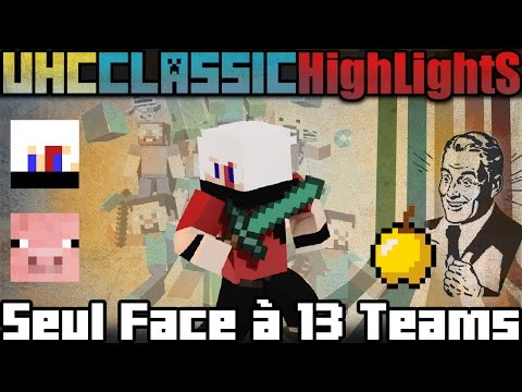 Alone, facing 13 Teams! - UHC Classic 2v2 - Mix HighLights - Epic Game on Epicube