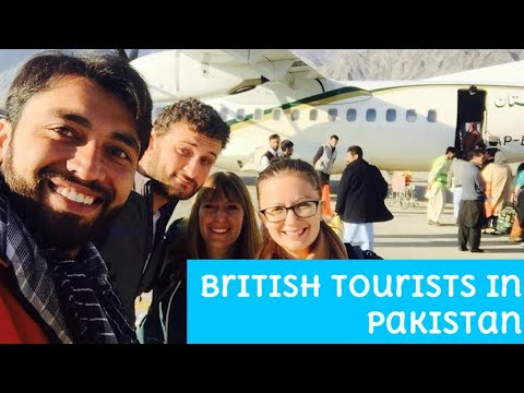 interview about traveling to Pakistan with British Tourists