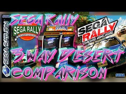 Sega Rally - 3 way Desert comparison (1080p - 60fps)